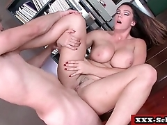 Sexy teacher fucked at school 01