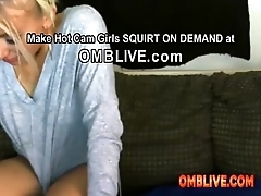 Blonde Fake Tits Need You To Shove OMBLIVE Toys Deep Inside Her