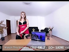 HoliVR   Gorgeous MILF Secretary fuck their way boss in the office