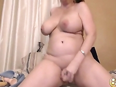Curvaceous cum doll Jen with big booty with an increment of huge epic boobs