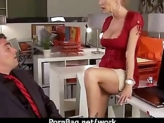 Big-busted slut get fucked hard in the office 7