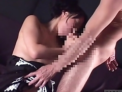 Subtitled bizarre elite Japanese couple sex slave usage
