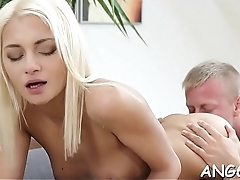 Electrifying doggy style pounding