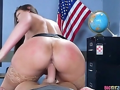 Nailing Ms Chase Part One - Brooklyn Chase, Jessy Jones