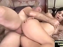 Aimee black fucked by old man