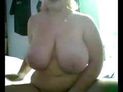 BBW Teen Helter-skelter Huge Tits Fingering on Cam - More on FriskyCams.net