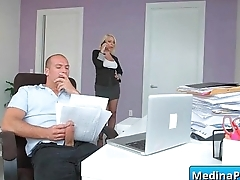 Hot busty secretary nailed by her VIP in the office 24