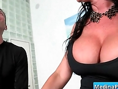 Hot busty secretary nailed by her boss in the office 10