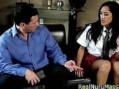 Teenage masseuse fucking