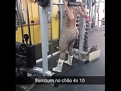 titbit blond in the leggings gym xBIGhome.com