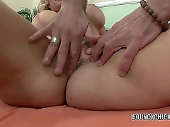 Blonde MILF Brooklyn Bailey gets pounded with a big cock
