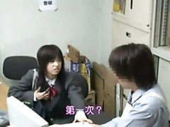 AbsoluPorn - Japanese shoplifted schoolgirl with mother sex or police part 1 - Free xxx sex porn vid