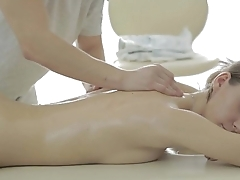 Anal sex after warm massage - Aruna Aghora
