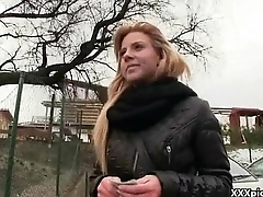 Public Sex For Some Money With Teen Amateur Euro Slut 10