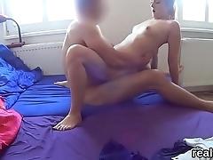 Attractive czech chick is tempted in the hypermarket and screwed in pov