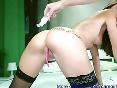 Extreamly HOT girlfriend sucking my boner and swallow cums!! - spicycamgirl.net