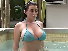 Soaking Wet Sheer Micro Bikinis
