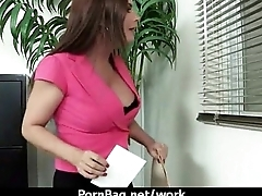 Office hardcore sex carry on with busty babe 11