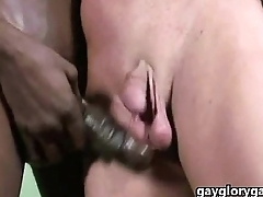 Interracial Gay Dick Rubbing And BBC Sucking 24
