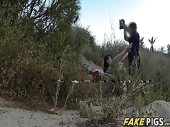 Crazy European Babe Extreme Fucked By Police Officer