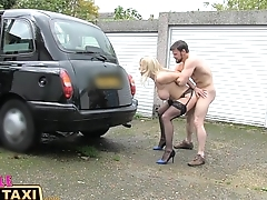 Female Fake Taxi Three exciting sessions and cumshots in the back
