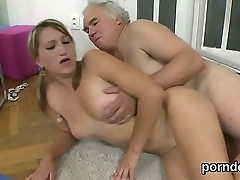 Erotic schoolgirl gets seduced and nailed by her older instructor