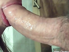 Closeup Blowjob From Amateur Italian MILF