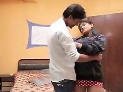 Sexy indian aunty accessible to fuck with a young guy on bed - Sex Videos - Watch Indian Sexy Porn Videos