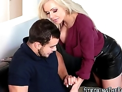 Stepmilf banged cummed