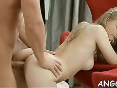 Sensational doggy style penetration