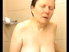 60 Big Tits Mom Shower Masturbation - FREE @ www.WebCummers.com