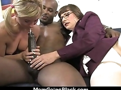 Your mother goes for a big black cock 3