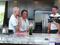 Hot Busty Mommy (Ashton Blake) Love Hard Sex In Front Of Camera vid-10
