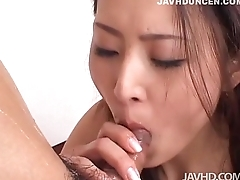 Risa sucks one cock in the long run b for a long time getting fucks by the other - JAVHDUNCEN.COM
