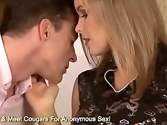MILF Is Hungry For Some Waiter Cock