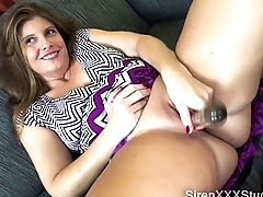 MILF Carrying-on with Toys