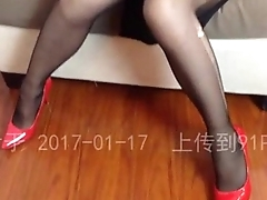 Step Mother Got Fucked by Her Son Series 06 脱掉骚妈黑丝后入美臀